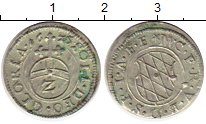 Изображение Монеты Бавария 2 крейцера 1625 Серебро XF