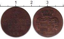 Изображение Монеты Ольденбург 1/2 грота 1831 Медь VF