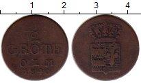 Изображение Монеты Германия Ольденбург 1/2 грота 1840 Медь VF