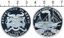 Изображение Монеты Бенин 1000 франков 2000 Серебро