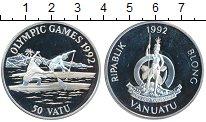 Изображение Монеты Вануату 50 вату 1992 Серебро