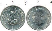 Изображение Монеты Гаити 5 сантим 1975 Медно-никель
