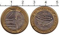 Изображение Монеты Аргентина 2 песо 2012 Биметалл