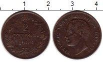 Изображение Монеты Италия 2 сентесимо 1906 Медь