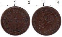 Изображение Монеты Италия 2 сентесимо 1867 Медь