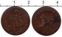 Изображение Монеты Италия 2 сентесимо 1911 Медь