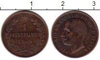 Изображение Монеты Италия 1 сентесимо 1904 Медь