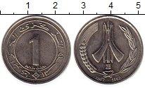 Изображение Монеты Алжир 1 динар 1987 Медно-никель