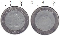 Изображение Монеты Алжир 10 динар 1999 Биметалл
