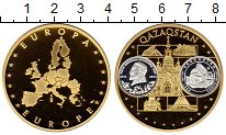 Монета Германия Жетон Латунь Proof фото