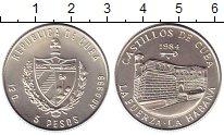 Изображение Монеты Куба 5 песо 1984 Серебро UNC