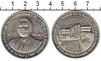 Изображение Монеты Руанда 1000 франков 1989 Серебро UNC-
