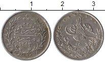 Изображение Монеты Египет 1 кирш 1907 Серебро XF