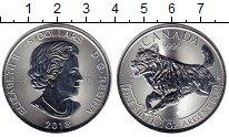 Изображение Монеты Канада 5 долларов 2018 Серебро UNC