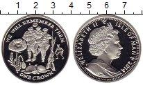 Изображение Монеты Остров Мэн 1 крона 2014 Серебро Proof