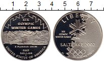 Изображение Монеты США 1 доллар 2002 Серебро Proof