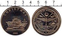 Изображение Монеты Маршалловы острова 5 долларов 1995 Медно-никель UNC