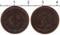 Изображение Монеты Мексика 1 сентаво 1912 Бронза VF