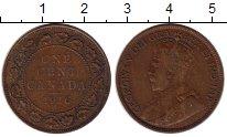 Изображение Монеты Канада 1 цент 1916 Бронза VF