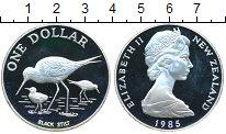 Изображение Монеты Новая Зеландия 1 доллар 1985 Серебро Proof-