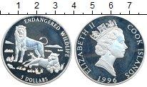 Изображение Монеты Новая Зеландия Острова Кука 5 долларов 1996 Серебро Proof-