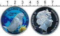 Изображение Монеты Соломоновы острова 10 долларов 2011 Серебро Proof-