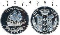 Изображение Монеты Новая Зеландия Ниуэ 10 долларов 1992 Серебро Proof-