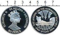 Изображение Монеты Великобритания Остров Вознесения 50 пенсов 1994 Серебро Proof-