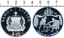 Изображение Монеты Самоа и Сисифо1 10 долларов 1994 Серебро Proof-