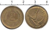 Изображение Монеты Чили 2 сентесимо 1967 Латунь XF
