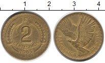 Изображение Монеты Чили 2 сентесимо 1965 Латунь XF