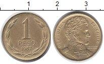 Изображение Монеты Чили 1 песо 1987 Латунь UNC-