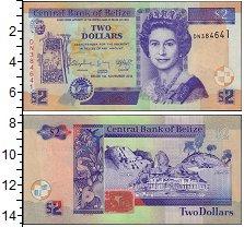 Изображение Банкноты Белиз 2 доллара 2014  UNC