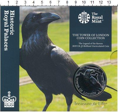 Изображение Подарочные монеты Великобритания 5 фунтов 2019 Медно-никель BUNC Данная монета открыв