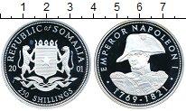Изображение Монеты Сомали 250 шиллингов 2001 Серебро Proof