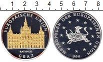 Монета Европа Монетовидный жетон Серебро Proof- фото