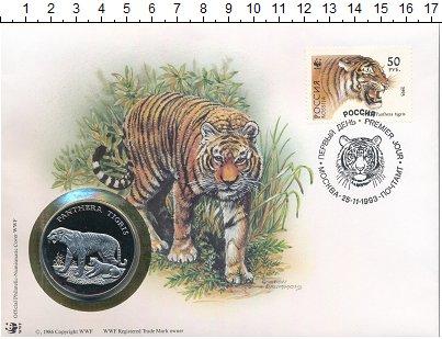 Изображение Монеты Германия Медаль 1986 Медно-никель UNC WWF. 30 лет Фонду ох