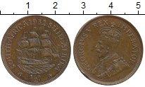 Изображение Монеты Великобритания Южная Африка 1/2 пенни 1932 Бронза VF
