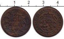 Изображение Монеты Люксембург 2 1/2 сантима 1908 Бронза VF+