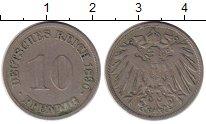 Изображение Монеты Германия 10 пфеннигов 1890 Медно-никель VF