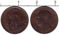 Изображение Монеты Италия 1 сентесимо 1915 Бронза XF