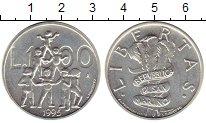 Изображение Монеты Сан-Марино 1000 лир 1995 Серебро UNC-
