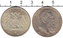 Изображение Монеты Германия Баден 2 марки 1911 Серебро XF