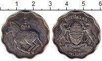 Изображение Монеты Ботсвана 1 пул 1976 Медно-никель XF