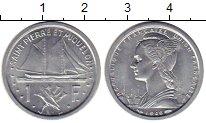 Изображение Монеты Сен-Пьер и Микелон 1 франк 1948 Алюминий UNC
