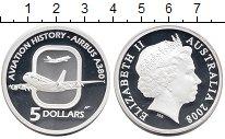 Изображение Монеты Австралия 5 долларов 2008 Серебро Proof