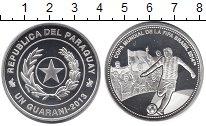Изображение Монеты Парагвай 1 гуарани 2013 Серебро Proof