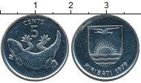Изображение Монеты Кирибати 5 центов 1979 Медно-никель XF