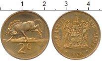 Изображение Монеты ЮАР 2 цента 1978 Бронза XF