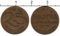Изображение Монеты Бельгия 25 сантим 0 Латунь XF
